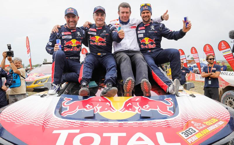 Carlos Saenz ganador Dakar 2018